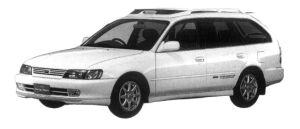 Toyota Corolla Wagon BZ TOURING 1997 г.