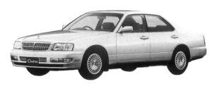 Nissan Cedric V25 TWINCAM BRAUHAM 1997 г.