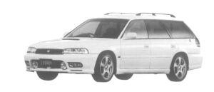 Subaru Legacy TOURING WAGON 4WD GT-B LIMITED 1997 г.
