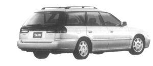 Subaru Legacy TOURING WAGON 4WD BRIGHTON-GOLD 1997 г.