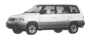 Mazda Efini MPV TYPE G-FOUR 2500 DIESEL TURBO 1997 г.