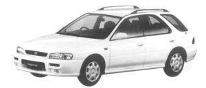 Subaru Impreza SPORTS WAGON C'Z 1997 г.