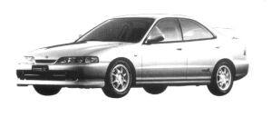 Honda Integra 4DOOR HARD TOP  TYPE R 1997 г.