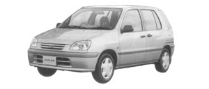Toyota Raum C PACKAGE 1997 г.