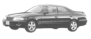 Toyota Mark II TOURER V 1997 г.