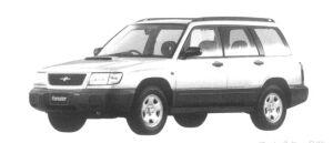 Subaru Forester C/tb 1997 г.