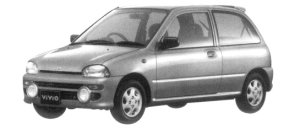 Subaru Vivio 3DOOR M300-TYPE S 1997 г.