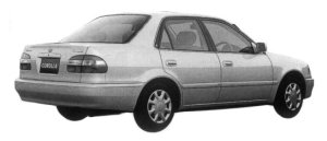 Toyota Corolla SEDAN 1.3 XE-SALOON 1997 г.