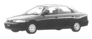 Mazda Familia SEDAN ES 1300 1997 г.