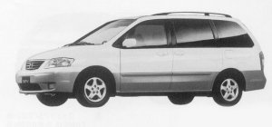 Mazda MPV L PACKAGE 1999 г.