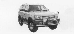 Toyota Land Cruiser Prado TZ3000 DISEL TURBO WITH INTERCOOLER 1999 г.