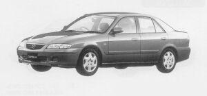 Mazda Capella Fi 4WD 1999 г.