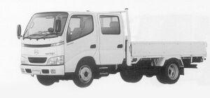 Hino Dutro STANDARD-WIDTH DOUBLE CAB, LONG 1999 г.