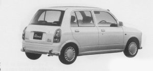 Daihatsu Mira GINO 1999 г.
