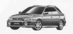 Subaru Impreza PURE SPORTS WAGON WRX 1999 г.