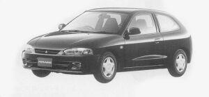 Mitsubishi Mirage 3DOOR J 1999 г.