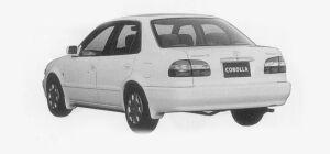 "Toyota Corolla SEDAN 1.5 SE - SALOON ""L SELECTION"" 1999 г."
