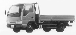 Nissan Diesel Condor 20 4WD HIGH CAB, HIGH FLOOR, LONG 1999 г.