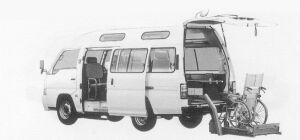 Nissan Caravan 2WD STRETCHER-TYPE CHAIR CAB TYPE1 1999 г.