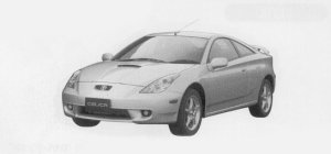 "Toyota Celica SS-II ""SUPER STRUT PACKAGE"" 1999 г."