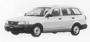 Mazda Familia VAN 1300DOHC DX (LEV SPEC) 1999 г.