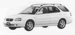 Suzuki Cultus Wagon 1800TZ 1999 г.