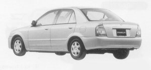 Mazda Familia SEDAN LS DIESEL 1999 г.
