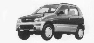 Daihatsu Terios KID CL 1999 г.
