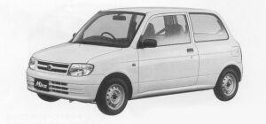 Daihatsu Mira VAN TA SPECIAL/TA 1999 г.