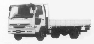 Hino Ranger SPACE FC STANDARD-WIDTH CAB 1999 г.