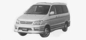 Toyota Townace NOAH ROAD TOURER, 2WD, 2.0 GASOLINE 1999 г.
