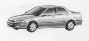 Honda Torneo 2.0 VTS 4WD 1999 г.