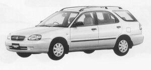 Suzuki Cultus Wagon 1500TS 1999 г.