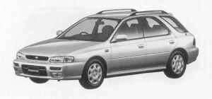 Subaru Impreza SPORTS WAGON GB 1999 г.