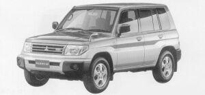Mitsubishi Pajero IO 5DOOR ZR 1999 г.