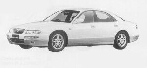 Mazda Millenia MC 2WS 1999 г.