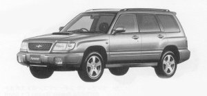 Subaru Forester S/tb 1999 г.