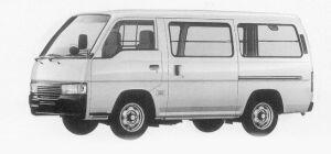 Nissan Caravan 2WD LIGHT VAN LOW FLOOR 3-SEATER DX-S 1999 г.
