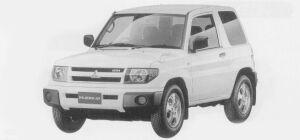 Mitsubishi Pajero IO 3DOOR ZR 1999 г.