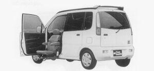 Daihatsu Move FRONT SEAT LIFT 1999 г.