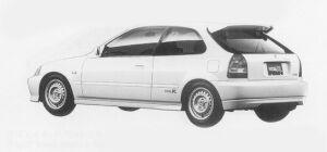 Honda Civic TYPE R (MOTOR SPORTS-BASED CAR) 1999 г.