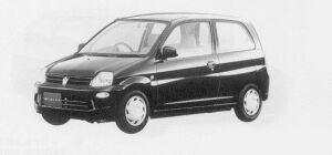 Mitsubishi Minica 3DOOR PJ 1999 г.