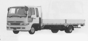 Hino Ranger SPACE FD WIDE CAB, ULTRA LOW FLOOR 1999 г.