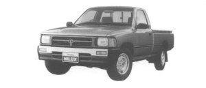 Toyota Hilux LONG BODY, LOW FLOOR, SUPER DELUXE 1995 г.