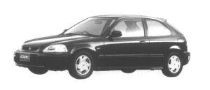 Honda Civic 3 door VTi 1995 г.