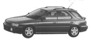 Subaru Impreza Sport Wagon 1.8L 4WD HX Edition-S 1995 г.