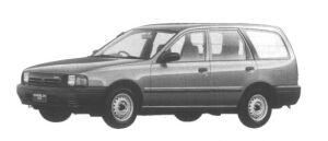 Mazda Familia VAN 1700 DIESEL XL 1995 г.