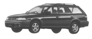 Subaru Legacy Grand Wagon 1995 г.