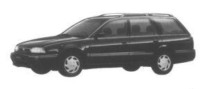 Nissan Avenir 2WD Salut X Diesel Turbo 2000 1995 г.