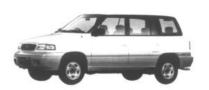 Mazda Efini MPV Gran tour Type G-Four 2500 Diesel Turbo 1995 г.